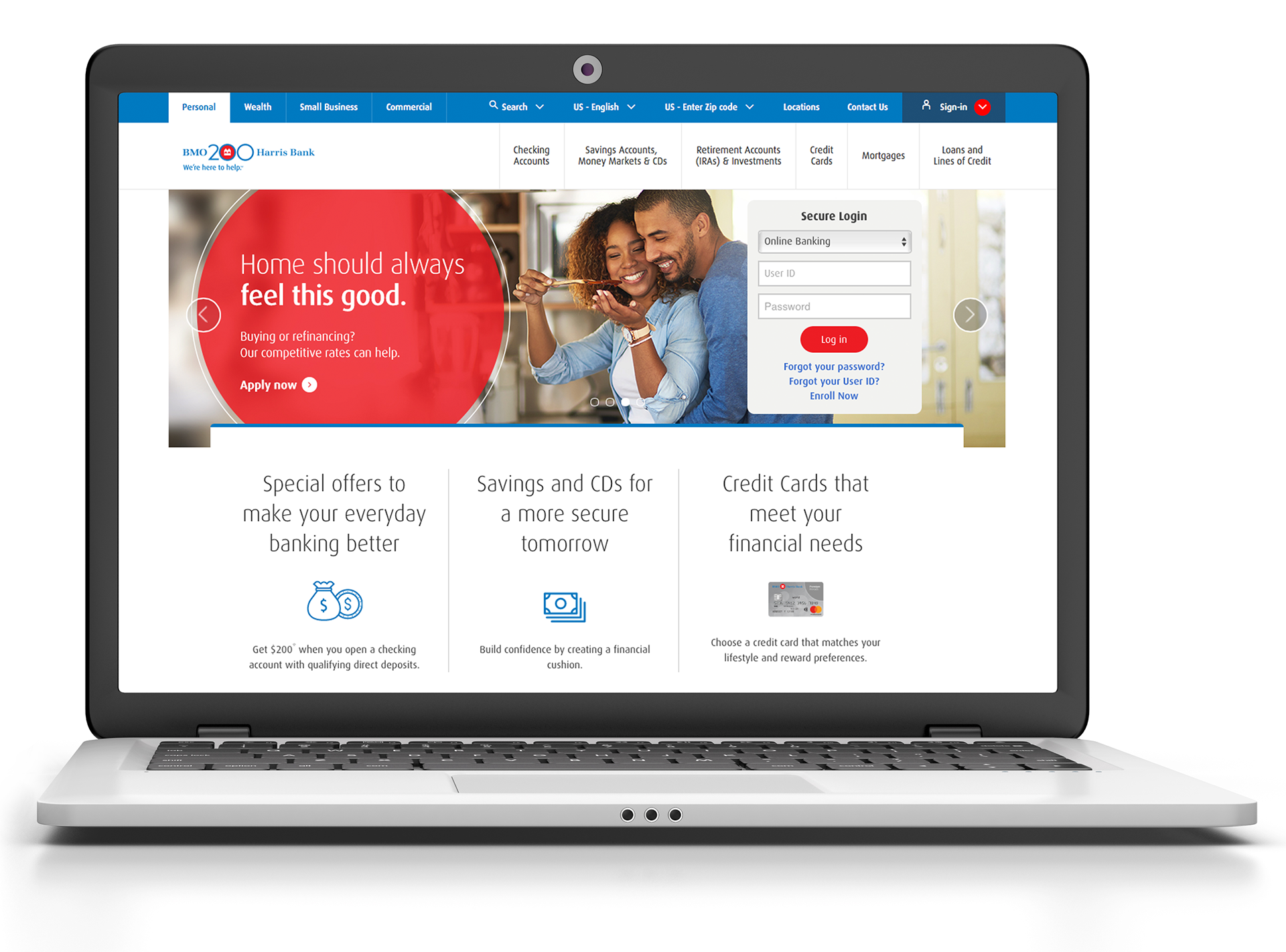 Chris rogers design bmo harris bmo harris brand experience for bank customers needing financial guidance small business mortgages and card security reheart Gallery